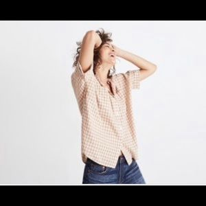 Madewell Courier Side Button Shirt